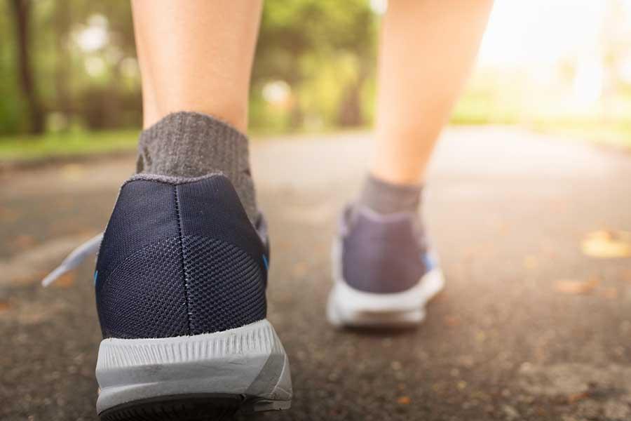 wandelen is gezond
