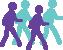 Wandelen is Gezond Logo